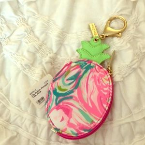 Lilly Pulitzer NWT Pineapple Coin Purse